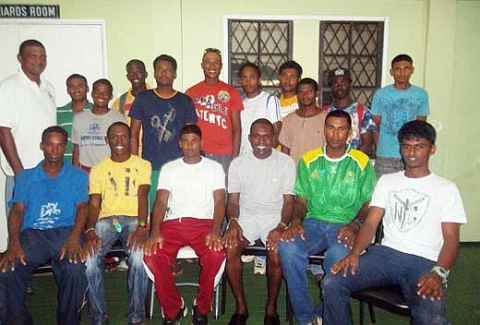 GT&T Guyana Team, May 2012