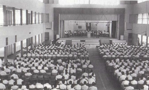 QC Auditorium, 1963