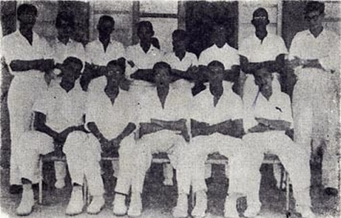 QC Cricket Team, 1961-1962