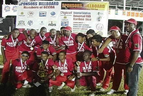 Titans Win 2012 T20 Independence Cup