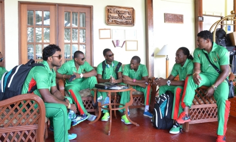 Warriors Depart For Grenada