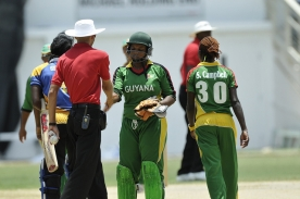 Guyana Women Thank Ump, 2012